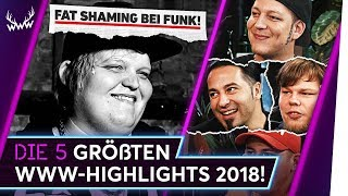 Die 5 GRÖSSTEN WWW-Highlights 2018! | TOP 5