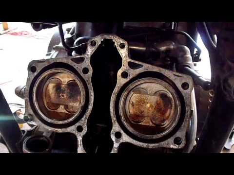 Honda Magna Head Removal for gasket replacement