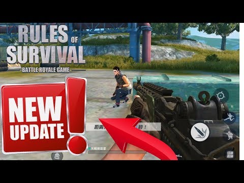 Rules Of Survival ! FIRST PERSON UPDATE IS HERE !!!