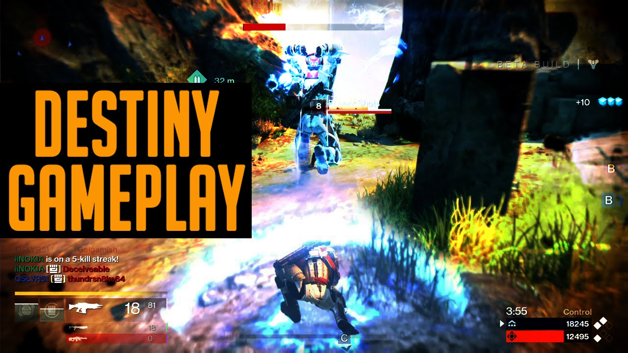 Destiny beta gameplay destiny multiplayer gameplay youtube
