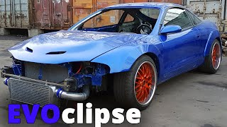EVOclipse | Mitsubishi Evolution inside  Eclipse 2G (Part 2. swap front AWD transmission)