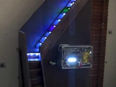 Eclairage d 39 escalier youtube - Lumieres led dans un interieur contemporain et elegant ...