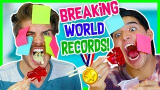 BREAKING WORLD RECORDS CHALLENGE! W/ ALEX WASSABI