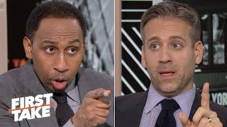 Stephen A. and Max Kellerman debate Eli Manning's Hall of Fame chances | First Take