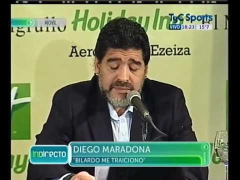 Declaracion Maradona (28-07-2010)