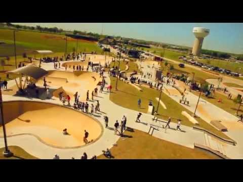 Gabe Nesbitt Skatepark - McKinney, Texas Skate Park