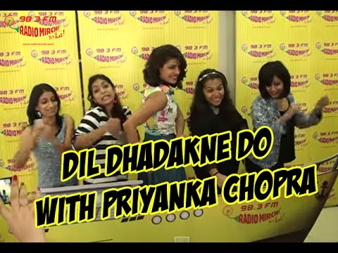 Priyanka Chopra at the Mirchi Mumbai Studio for Dil Dhdakne Do