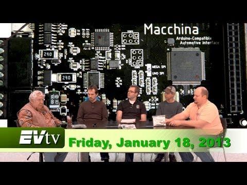 EVTV Friday Show -  January 18, 2013