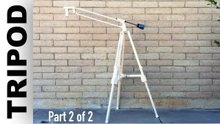 Wooden tripod (part 2 of 2)