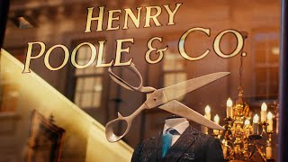 Why Is This The Oldest Bespoke Suit Maker On Savile Row? Henry Poole Shop Visit | Kirby Allison