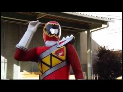 Power Rangers Dino Charge Video Test | FAN DUB