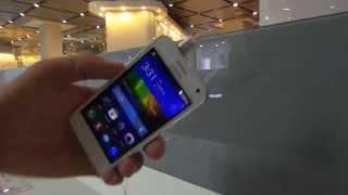 Huawei Y3 bemutató videó