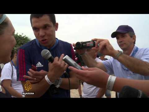 US athletes take part in Cuban triathlon
