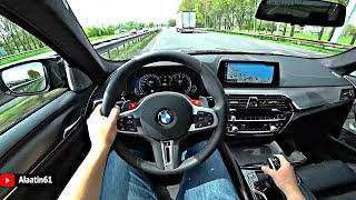 The BMW M5 2020 Test Drive