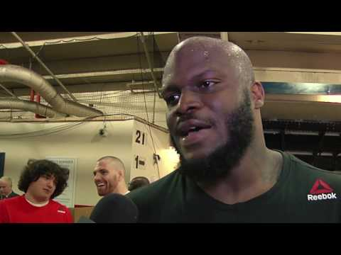 Fight Night Halifax: Derrick Lewis Backstage Interview
