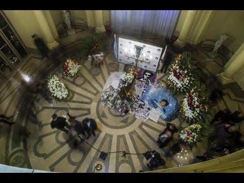 Velorio de Gustavo Cerati IMAGENES!!