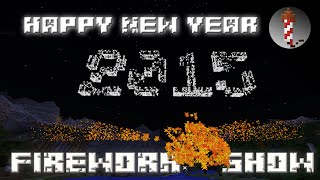 Happy New Year 2015 - Minecraft Silvester Fireworks Show
