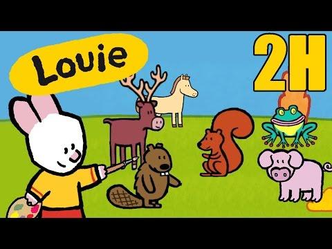 Dibujos Animados Para Niños - 2 Horas De Louie: El Bosque - Compilacion #4 HD