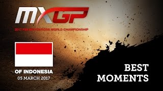 2017 MXGP of Indonesia MX2 Best Moments MX2 #motocross