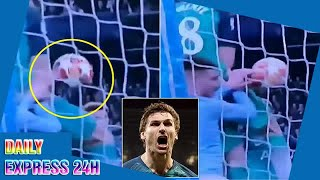 Fernando Llorente DID handball for Tottenham's vital goal
