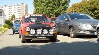 06 Sett 2014 - Le Auto del Registro Autobianchi si preparano al giro in pista