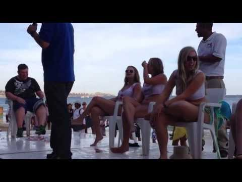 Mango Deck Wet T-shirt Contest - Cabo San Lucas, Mexico - April 22, 2013 video