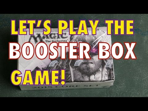 MTG - Take a chance! Lets play the Booster Box game! M15 opening...