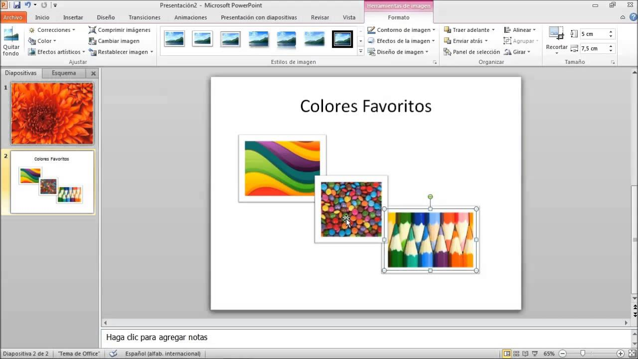 como a u00f1adir diapositivas en powerpoint 2010
