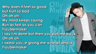 Olly Murs feat  Flo Rida   Troublemaker Lyrics dodas