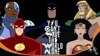 Justice League SDCC Trailer 2017 Animated TV Series Style HD