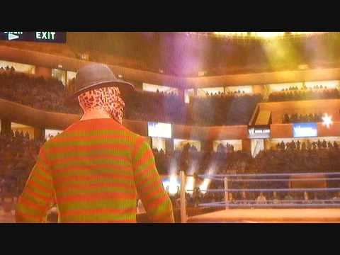 WWE Smackdown Vs Raw 2010 Freddy Krueger Caw