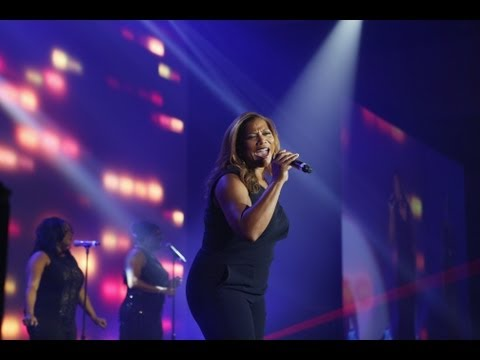 Queen Latifah Performs Sideways at the 2013 Steve Chase Awards