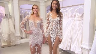 Brides Go Nearly Nakeed in The Newest Wedding Dress Trend