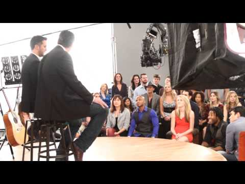 Behind the Scenes with Blake Shelton  Luke Bryan  2014 ACM Awards Promo Shoot
