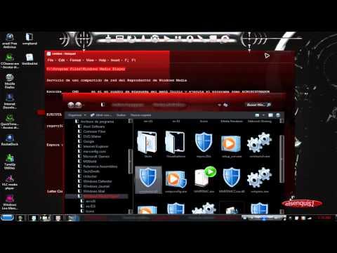 habilitar la barra de herramientas de WMP 12 EN WINDOWS7