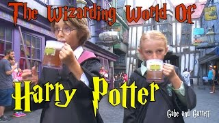 The Wizarding World of Harry Potter - Universal Studios!