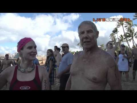 Three Finisher Interview - 2010 Waikiki ROugh Water Swim
