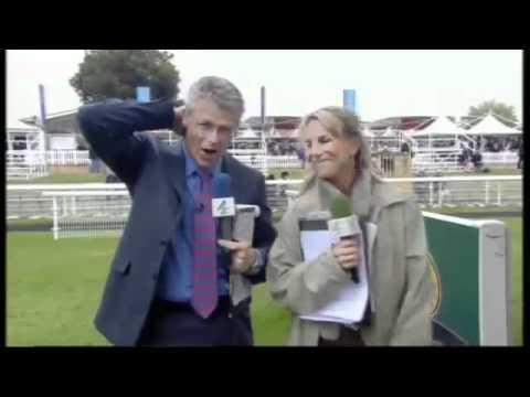 Emma Spencer Hold Ups falling down live on TV