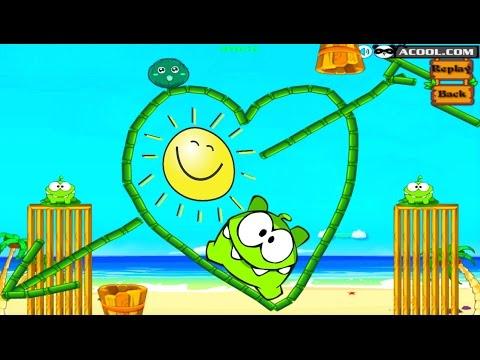 Детская Игра Мультфильм 👾 Приключения Ам Няма 👾 Om Nom: New Full Episodes HD Gameplay | Kids Games