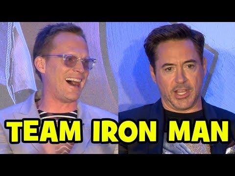 "CAPTAIN AMERICA CIVIL WAR ""Team Iron Man"" - Global Press Conference"