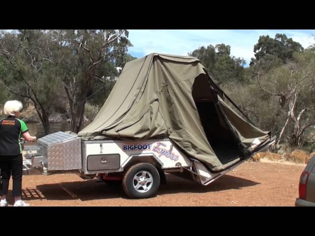 Bigfoot Campers - Explorer Hard Floor Camper