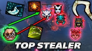 Qupe Pudge Highlights [TOP STEALER] Dota 2