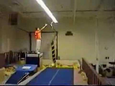 Gymnastics, Kungfu, stuntman? I say mad skills