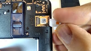 LG K8 - How to Insert SIM Card and Memory Card