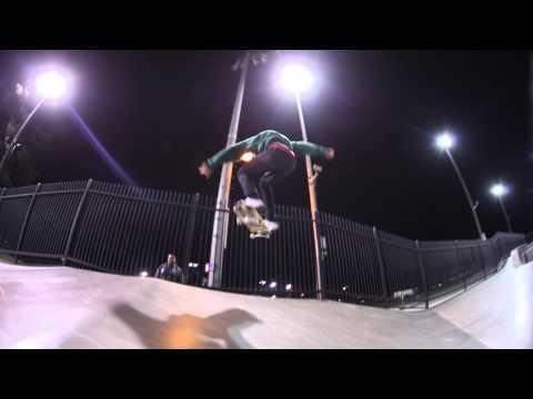 Chino Skatepark Round 2 with Nyjah Huston