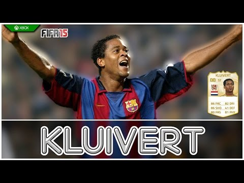 FIFA 15 | Legend Review | Patrick Kluivert !