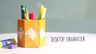 デスク周りの収納に♪折り紙ケースの折り方・作り方11選