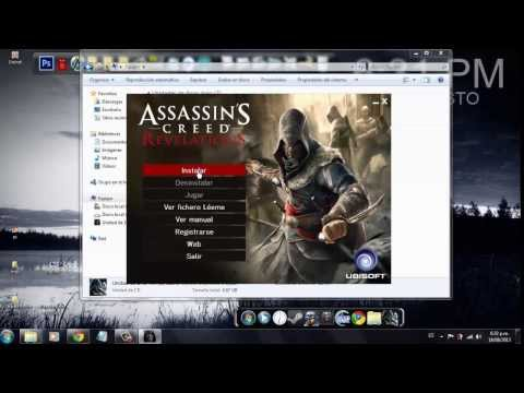 como instalar Assassins Creed Revelation con los CDs ( sin ningun problema )
