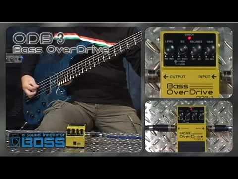 ODB-3 Bass OverDrive [BOSS Sound Check]
