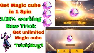 How to get magic cube in 1 spin free fire tricks tamil